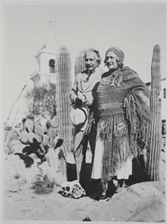 Albert und Elsa in Palm Springs um 1931